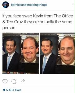 Ted Cruz face swap